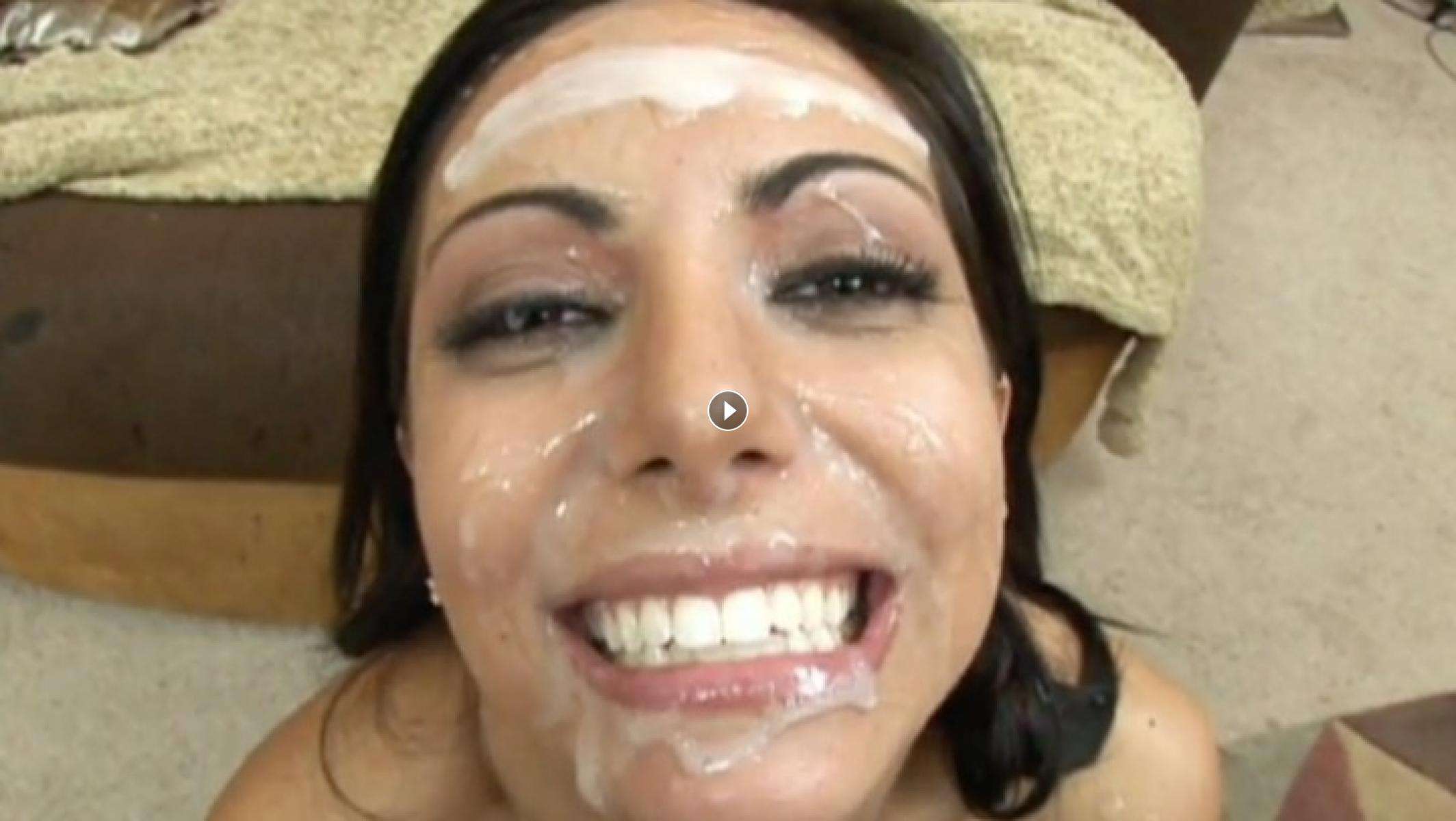 Shaved Brunette Lela Star With Pierced Tongue
