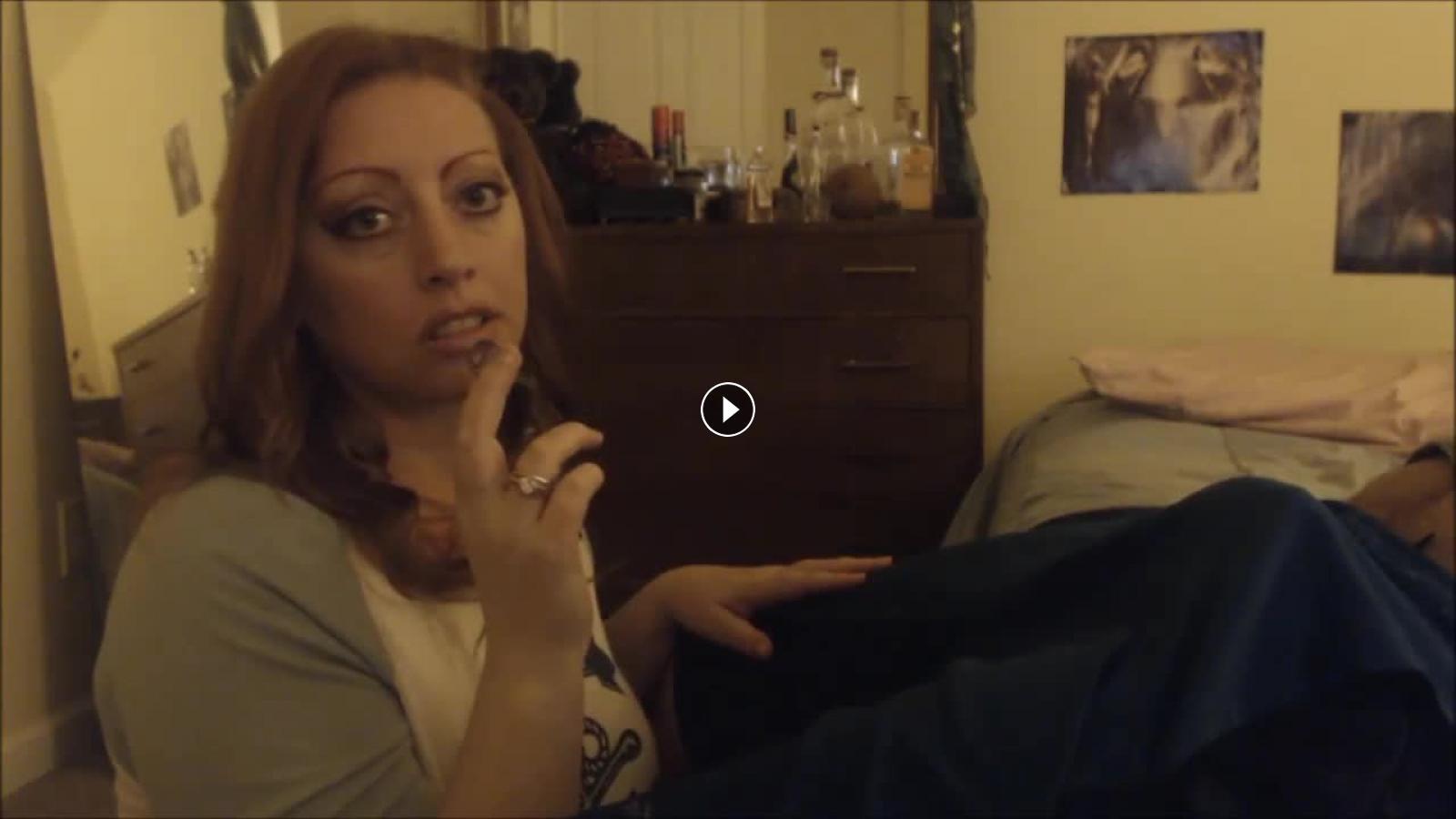 Shemale fucks girl bareback