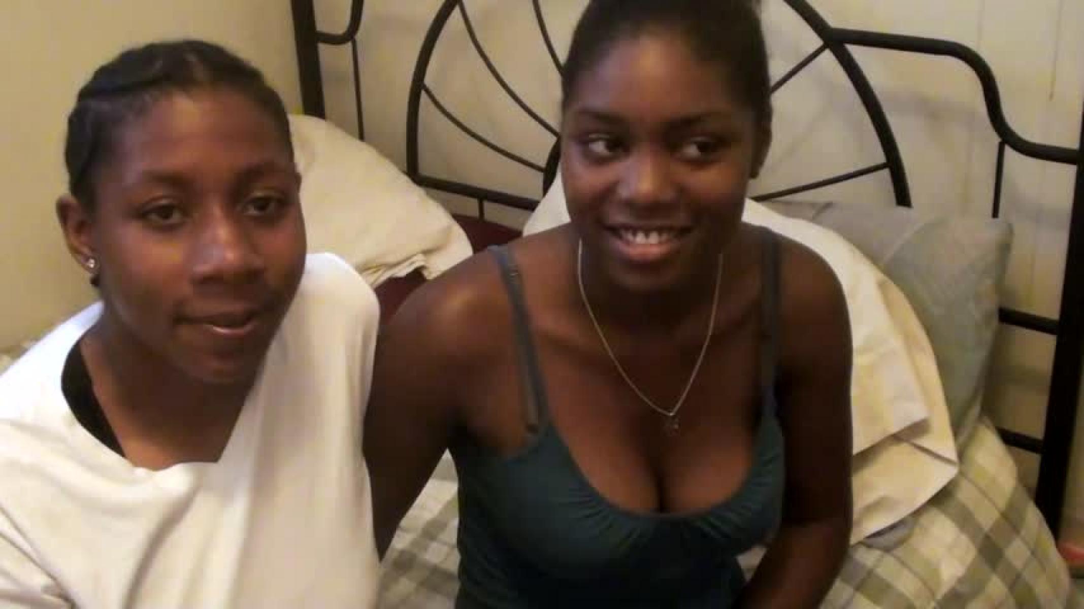 Fair skin black girls nude