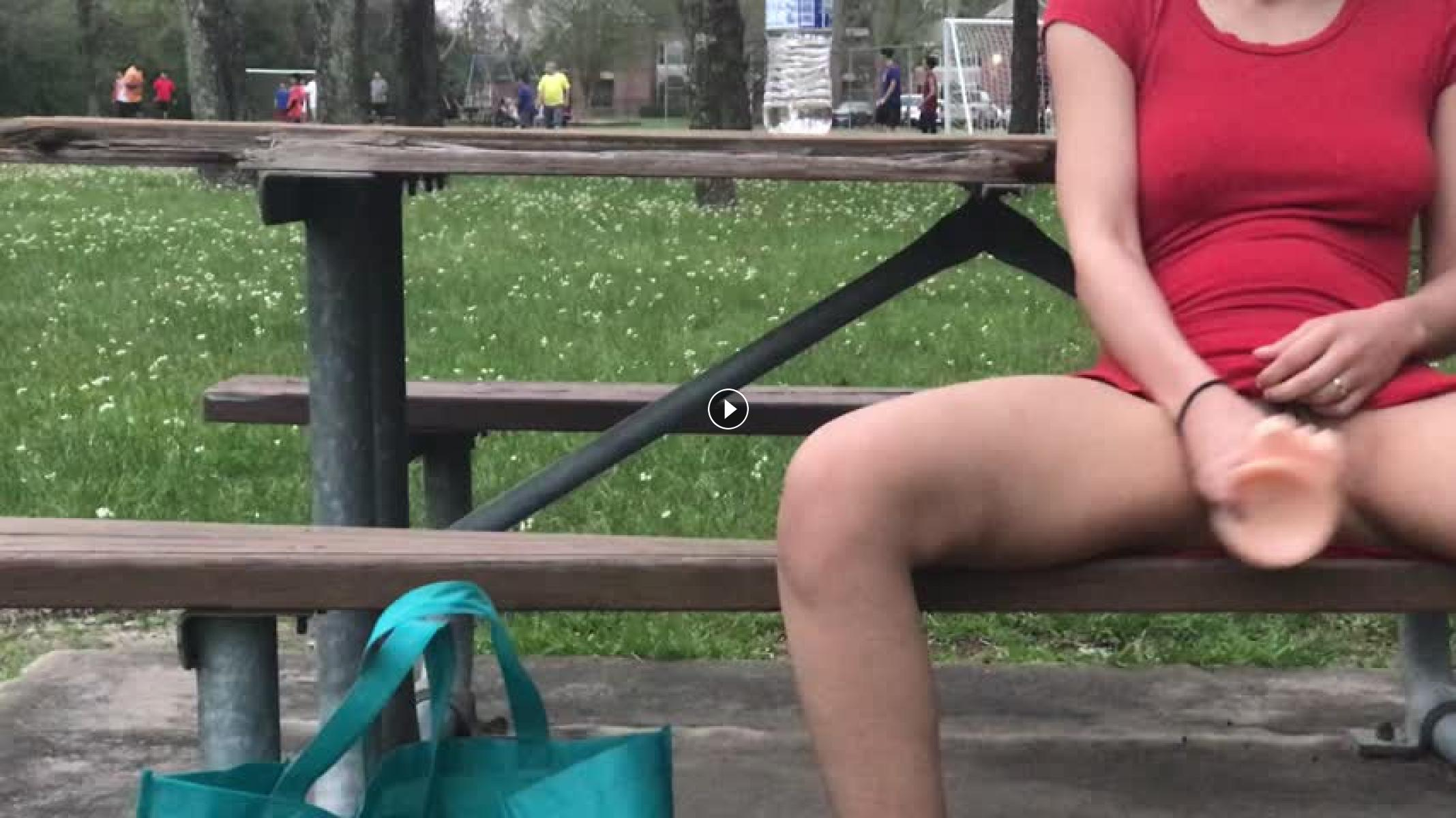 Girl squirt in public movie