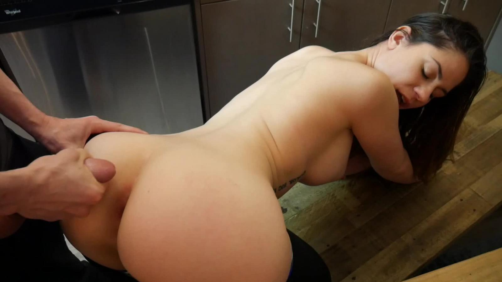 Porn girl blackmails brother