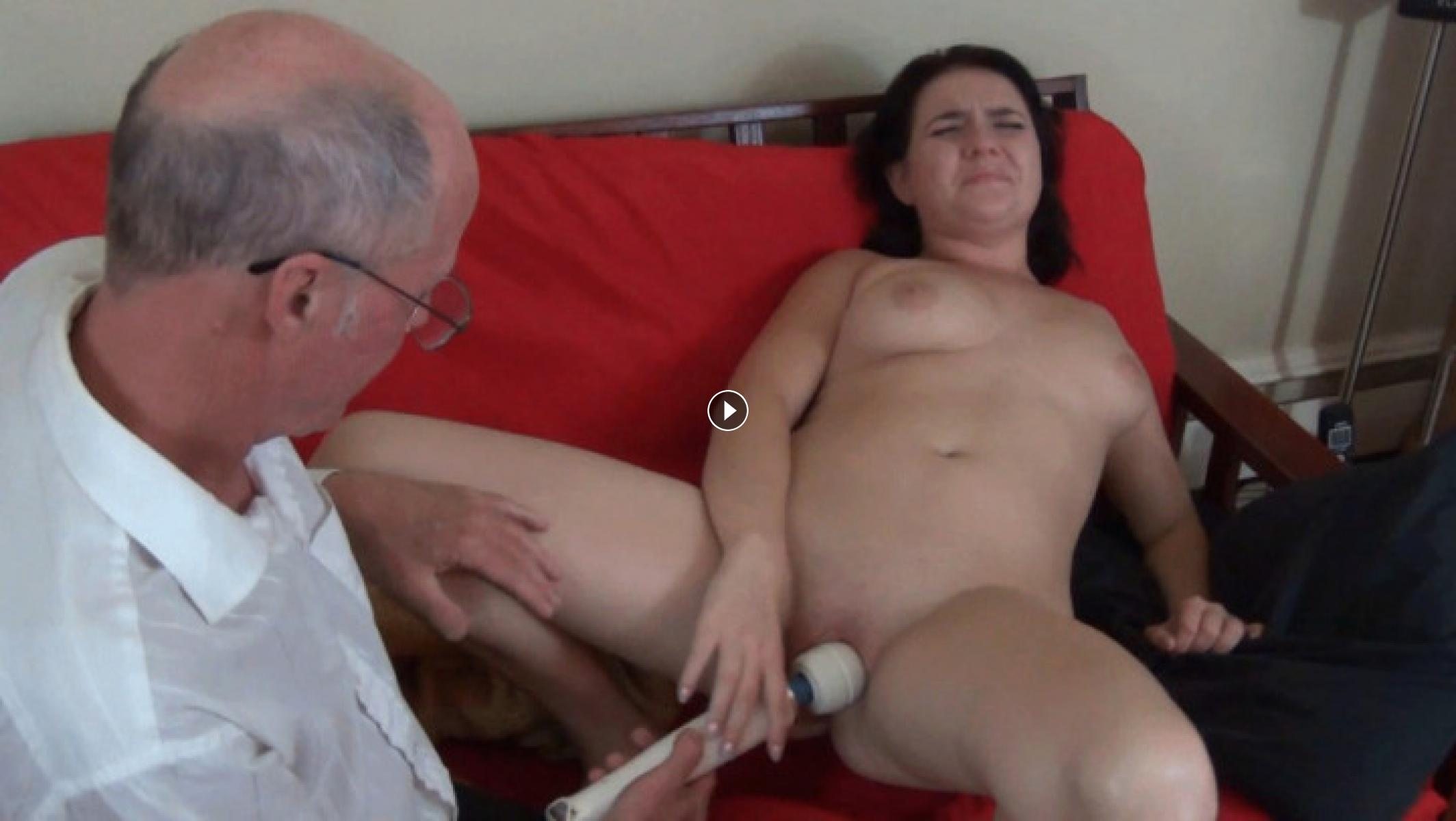 Grandpa rips panties off granddaughter, alicia and ashley cum twins